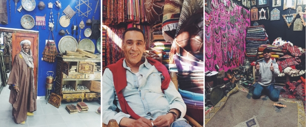 Male Shopkeepers in Marrakesh Morocco