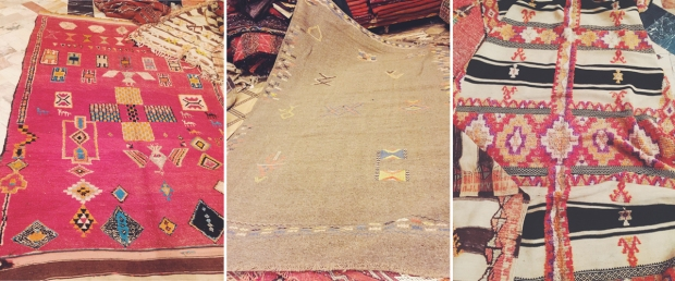 Marrakech Rug Collage